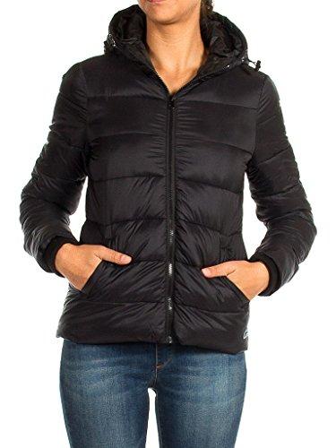 Longue Taille Jeans Unie 460 899 Normale Pour Femme Blouson Manche Carrera Couleur Noir HBwv4B