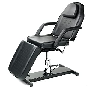 Titan Tattoo Furniture   Pallas Hydraulic Black Chair