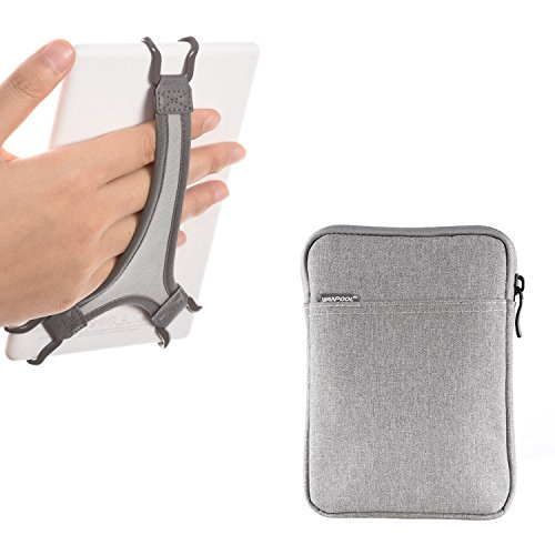 WANPOOL Hand Strap Holder for Kindle / Paperwhite / Voyage / Oasis 6 Inch, Plus Protective Felt Cover Pouch Bag