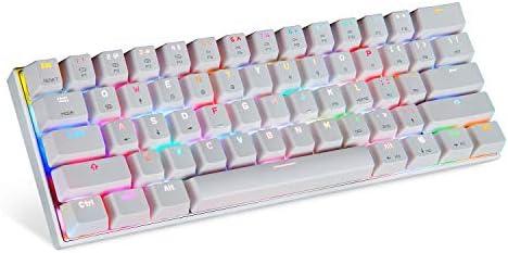 Motospeed Kabelgebundene Und Kabellose 3 0 Tastatur 60 Computer Zubehör