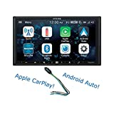 Alpine iLX-W650 7' Mech-Less Receiver Compatible with Apple CarPlay and Android Auto Bundled w/PAC TR1 Video Lockout Bypass Trigger Module