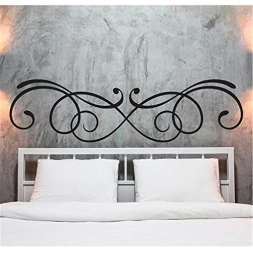 Removable Vinyl Wall Stickers Act Mural Decal Art Home Decor Headboard Stickers for Bedroom (Alabama Headboard)