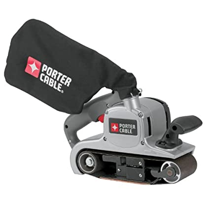 Image of Home Improvements PORTER-CABLE Belt Sander with Dust Bag, Variable-Speed, 8 Amp, 3-Inch-by-21-Inch (352VS)