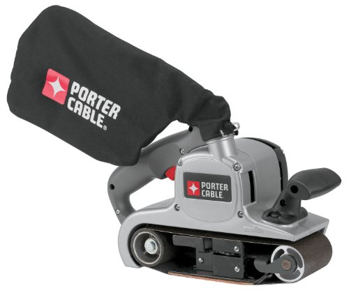 PORTER-CABLE 352VS 8 Amp 3-Inch-by-21-Inch Variable-Speed Belt Sander with Cloth Dust Bag (Wood Porter Cable Sander)