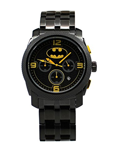 - 75 Years of Batman Black Chronograph Watch (BAT8049)