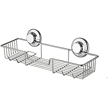 Amazon.com: SANNO Bathroom Shower Caddy Bath Shelf Storage Combo ...