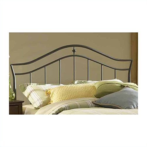 Hillsdale Furniture 1546HKR Imperial Headboard with Rails, King, Twinkle (Headboard Footboard Platform Rails)