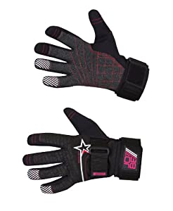 Jobe Progress Gloves Kevlar black/red-XL