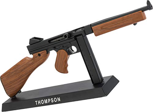 (Evike Die-Cast Metal and Polymer 1:6 Scale Miniature Model Gun (Type: Thompson))