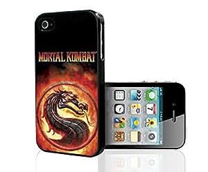 Fun Fiery Mortal Kombat Art Hard Snap on Phone Case (iPhone 5/5s)