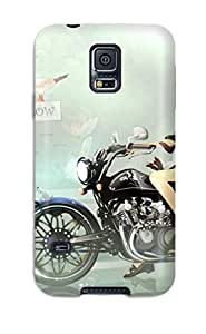 Galaxy S5 Hard Case With Awesome Look - VvONGxO9723iOBRH