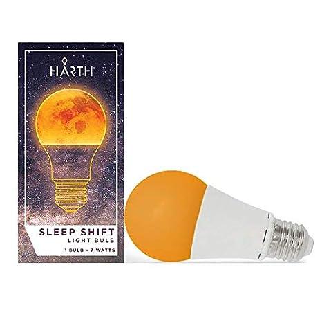 SCS iluminación sleep-ready luz. Dormir Mejor, naturalmente. 7 W LED ámbar bombilla. Admite sana patrones de sueño, favorece la producción natural ...