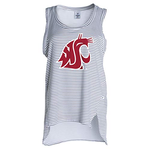 Official NCAA WSU Washington State Cougars - Women's Stretchy Striped Tank -