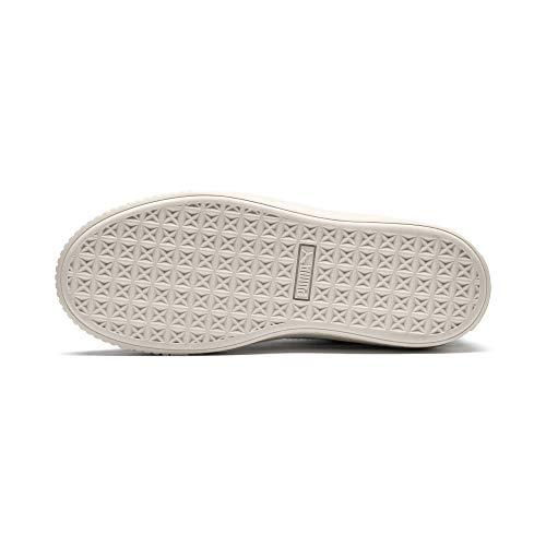 Puma 01 Platform Bianco Scallop Basket 37 Verde Verde Wn's Sneakers 366723 Pr78wqP