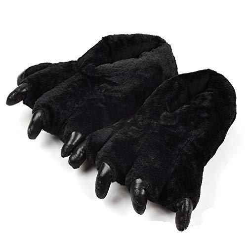 Invierno Antideslizantes Pata Zapatos Negro Casa De Oso Zapatillas Lhxyx vAqOgn7WtW