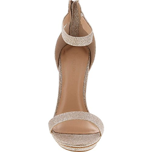 Del Piattaforma Cinturino Gold Del Caviglia Diva Donne Glitter Selvaggio Pompa Sandalo 01 Amy Tallone Alla Stiletto Tacco wACxOq