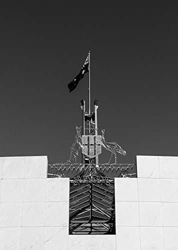 Coat of Arms - Parliament House - Canberra Photograph