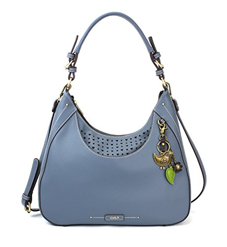 Chala Bird Blue Bag Shoulder Sweet Tote Metal RXwOrvXYnq