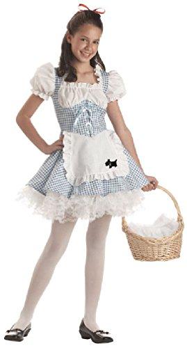 8eighteen Dorothy Storybook Sweetheart Tween Costume (Gothic Dorothy Costume)