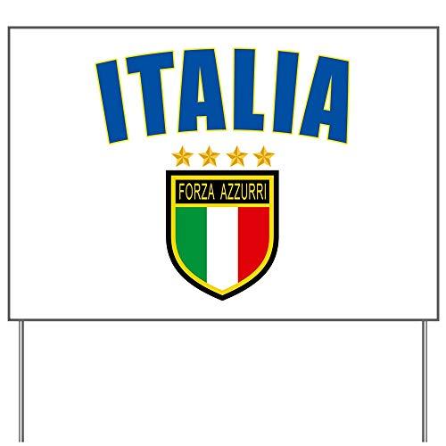 CafePress Italian Pride Yard Sign, Vinyl Lawn Sign, Political Election Sign
