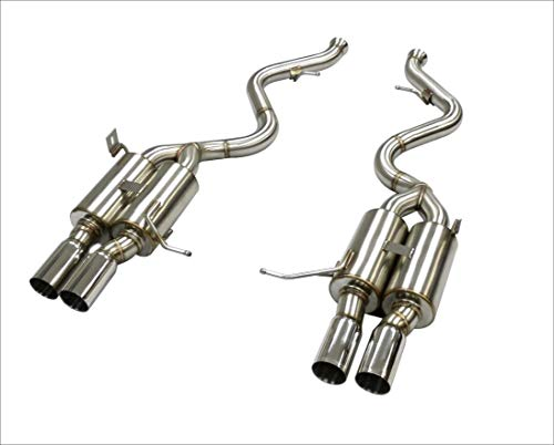 OBX Performance Stainless Axleback Exhaust System 07-13 BMW M3 E90 E92 E93 4.0L 4.4L V8 3.0
