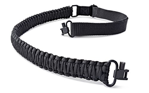 SREMMOS TM Two Point Rifle Sling with Swivels, Heavy Duty Gun Sling, Paracord Sling for Rifle, Multiple Colors