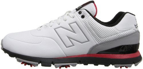 Pictures of New Balance Men's NBG574 Golf Shoe Natural Large 4