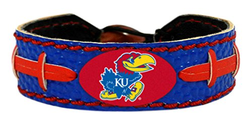 Kansas Jayhawks Game Wear Team Color Football Brac -