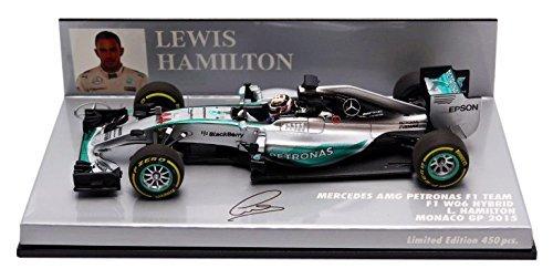 1/43 メルセデス AMG ペトロナス F1チーム W06 ハイブリッド L.ハミルトン モナコGP 2015 417150144