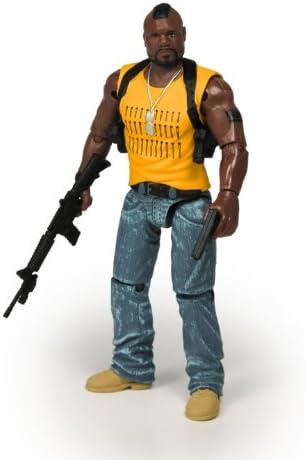 Amazon Com Ateam 2010 Movie 3 3 4 Inch Action Figure B A Baracus Quinton Rampage Jackson Toys Games