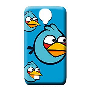 samsung galaxy s4 case Plastic style mobile phone back case Blue Angry Birds