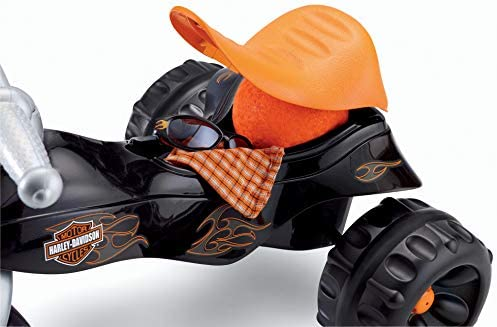 Harley Davidson Tough Trike Black for kids