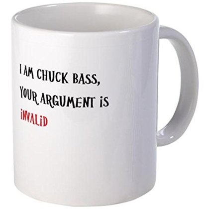 11 ounce Mug - Chuck Bass Mug - S White