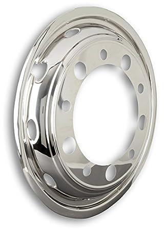 Universal Tapacubos 22,5 pulgadas - Llanta - Revestimiento - Eje delantero para camiones: Amazon.es: Coche y moto