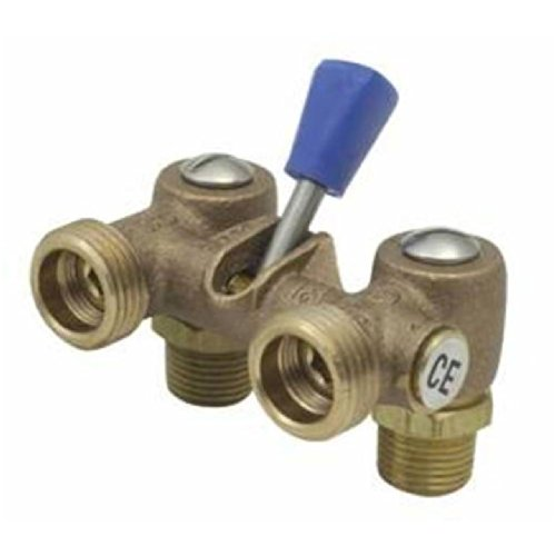 Cash Acme 16962-0000 Single Lever Shutoff Valve, 1/2-Inch, Bronze by Cash Acme