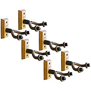6 pack of string swing cc01 wall mount guitar hangers musical instruments. Black Bedroom Furniture Sets. Home Design Ideas