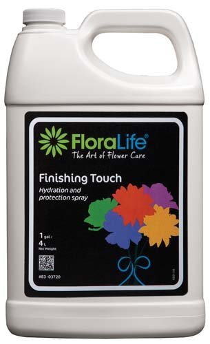 Floralife Finishing Touch Spray, 1 gallon/4L Hydration and Protection Spray (Spray Flower)