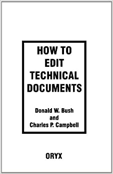 How to Edit Technical Documents: