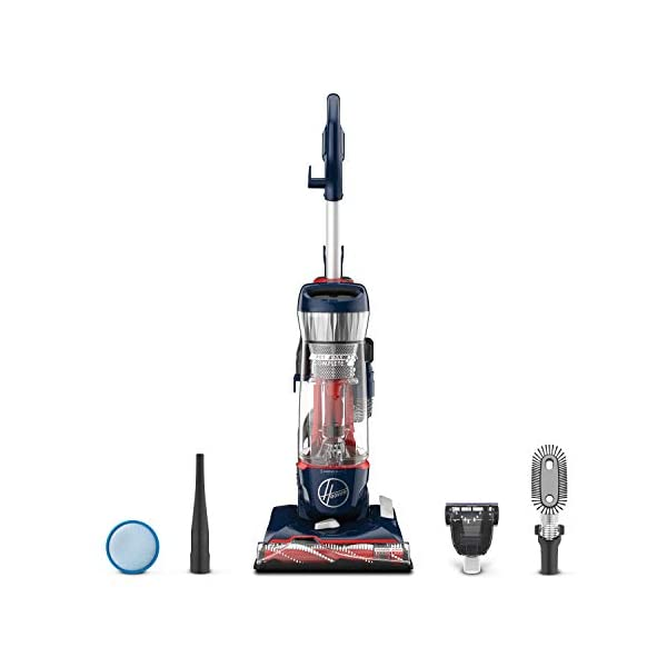 Hoover MAXLife Pet Max Complete Bagless Upright Vacuum Cleaner, UH74110, Blue Pearl 1