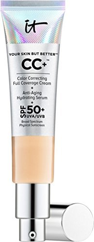 IT Cosmetics Your Skin But Better CC+ Cream with SPF 50+ Light - Full Size 1.08 oz/ 32 mL