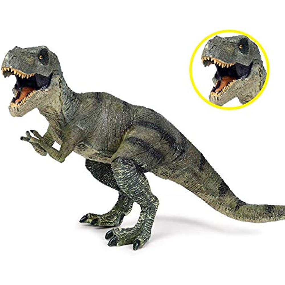 Tyrannosaurus Rex Jurassic World Realistic Dinosaur Figure Prehistory Animal Toy