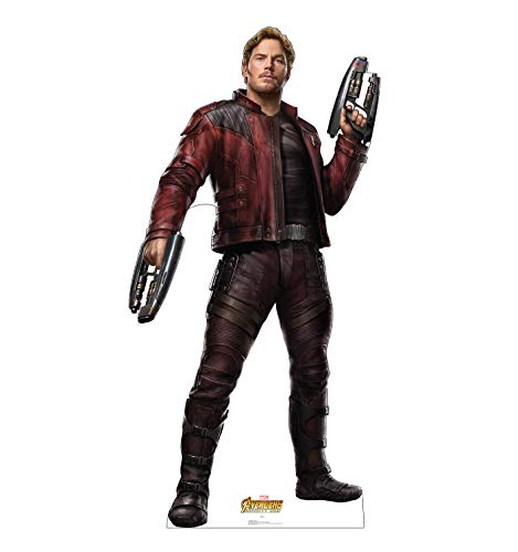 Advanced Graphics Star-Lord Life Size Cardboard Cutout Standup - Marvel's Avengers: Infinity War (2018 Film) ()