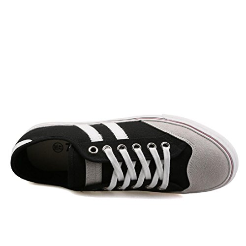 Hombres Zapatos planos Retro Ocio Respirable Zapatos casuales Black