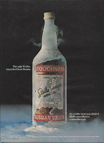 print-ad-for-stolichnaya-vodka-frost-bottle-smoothness-comes-through