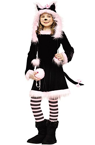 Little Baby Kitty Costume (Fun World Little Girls' Baby Pretty Kitty Toddler Costume, Multi, Large)