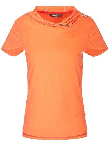 W The Pantaloncini Emberglow Orange s Flyara Tee North Face S qwUZSx76w