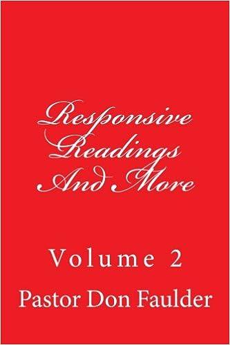 responsive readings baptist church mens day