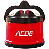 ACED Knife Sharpener with Suction Cup (Red)
