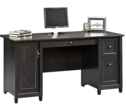 Amazon Com Sauder 408558 Edge Water Computer Desk L 59 06 X W