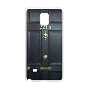 221B Door Cell Phone Case for Samsung Galaxy Note4